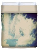 Clouds-5 Duvet Cover