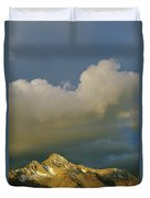 Clouds Above Mount Wilson Duvet Cover