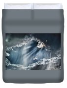 Clouds And Sky Duvet Cover