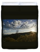Clouds At Sunset II Duvet Cover