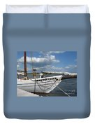 Clouds Over The River  Duvet Cover