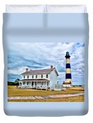 Cloudy At Bodie Duvet Cover