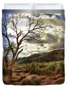 Cloudy Valley  Duvet Cover