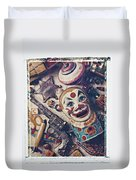 Clown Bank Duvet Cover