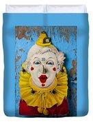 Clown Toy Game Duvet Cover