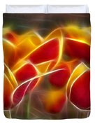 Cluisiana Tulips Triptych Panel 2 Duvet Cover