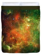 Clusters Of Young Stars In The North Duvet Cover