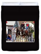 Clydesdales Duvet Cover