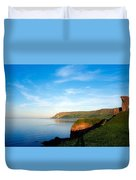 Co Antrim, Glenariff Or Waterfoot Duvet Cover