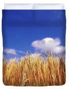 Co Carlow, Ireland Barley Duvet Cover