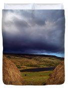 Co Cavan, Lake In West Cavan Mnts Duvet Cover by The Irish Image Collection