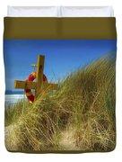 Co Down, Ireland Lifebelt Duvet Cover