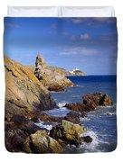 Co Dublin, The Bailey Lighthouse Duvet Cover