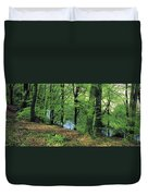 Co Kerry, Standing Stone On Clogher Duvet Cover