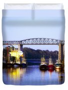 Co Louth, Drogheda And River Boyne Duvet Cover