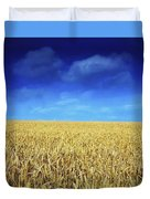 Co Louth,irelandwheat Field Duvet Cover