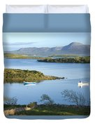 Co Mayo, Ireland Evening View Across Duvet Cover