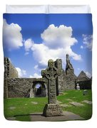 Co Offaly, Clonmacnoise Duvet Cover