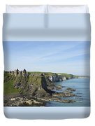 Coastal Seascape Duvet Cover