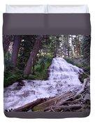 Coat Hanger Falls  Duvet Cover