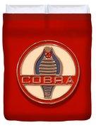 Cobra Emblem Duvet Cover