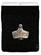 Coca Cola Bottle Opener Duvet Cover
