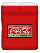 Coca-cola  Relieves Fatigue Duvet Cover