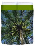 Coconut Palm Duvet Cover