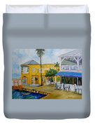 Coconut Tree In The Middle Duvet Cover