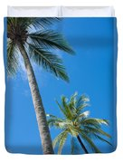 Coconuts  Duvet Cover by Atiketta Sangasaeng