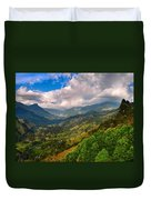 Cocora Valley Duvet Cover