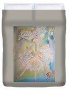 Coffee Fairy Duvet Cover