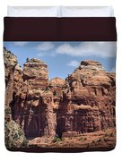 Coffee Pot Rock Formation Duvet Cover