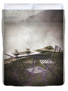 Coffee Table Duvet Cover