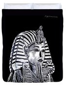 Coffin Of The King Duvet Cover