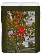 Cold Autumn Breeze  Duvet Cover