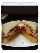 Cold Cut Sandwich Duvet Cover