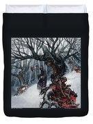 Cold Day To Die Duvet Cover
