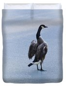 Cold Goose Dreams Duvet Cover