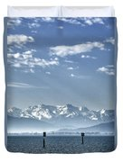 Cold Lake Duvet Cover