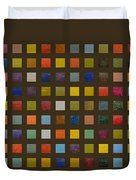 Collage Color Study Lll Duvet Cover