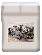 Colonial Coffee House Duvet Cover
