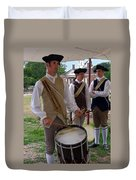 Colonial Drummer Duvet Cover