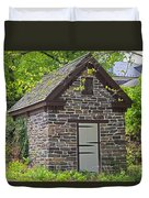 Colonial Stone Ice House Duvet Cover