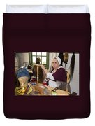 Colonial Wigmaker Duvet Cover