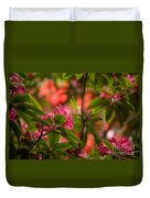Color In The Jungle Duvet Cover
