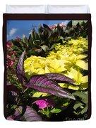 Color Of Purple Duvet Cover