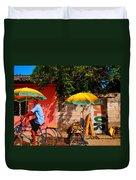 Color Duvet Cover by Skip Hunt