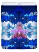 Color Sky Orchid Duvet Cover