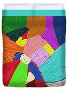 Color Tectures Duvet Cover